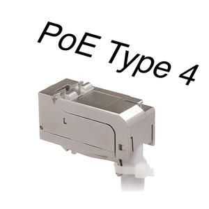 KELine, 10G HD 90 keystone modul 1xRJ45 Cat.6A ISO STP - beznástrojový