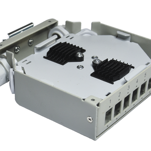 KELine, distribuční box pro 8 x SC, LC Duplex, LSH (E2000) adaptér