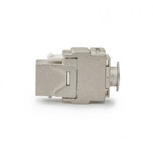 KELine, 10G keystone modul 1xRJ45 Cat.6A EA STP - beznástrojový