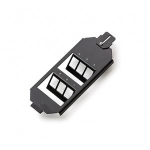 KELine, zásuvka do podlahových van a boxů OBO Ackermann pro 6xRJ45 černá