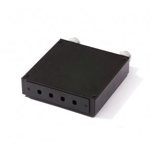KELine, distribuční box pro 4 x ST adaptér černý
