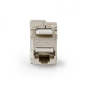 KELine, keystone modul 1xRJ45 Cat.5E STP - beznástrojový
