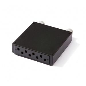 KELine, distribuční box pro 8 x ST adaptér černý