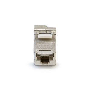 KELine, keystone modul 1xRJ45 Cat.6 STP - beznástrojový